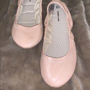 Shoes - brand new blush pink memory foam ballet flats